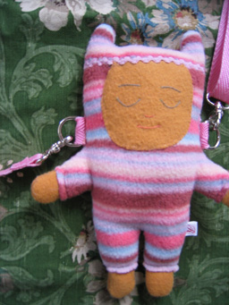 purse rag doll