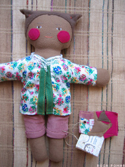 handmade cloth doll