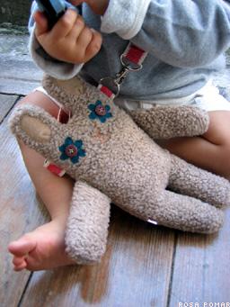 rabbit doll-purse