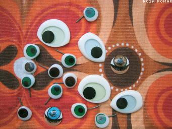 olhos de boneco
