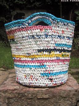 plastic bag crochet