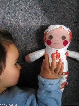 bebé de pano