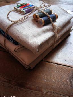 tecidos e linhas