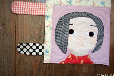 amenlia's mini quilt