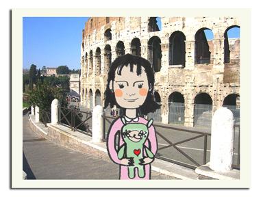 boneco em roma